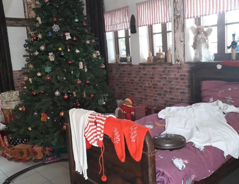 In der guten Stube des Weihnachtsmannes